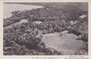 New York Air View Of St Josephs