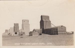 RP: GRAVELBURG , Sask. , Canada , 1900-10s ; Grain Elevators