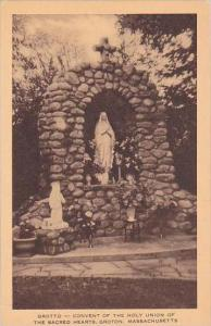Massachusetts Groton Grotto Convent Of The Holy Union Of The Sacred Hearts Ar...