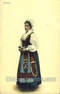 Warend Native Costume Postcard Postcards  Warend