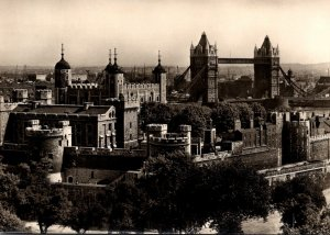 England London Tower Of London General View From North West