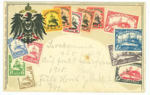 Deutsch - Sudwestafrika, Stamp Card