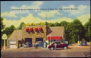 Rock City TN, Fairyland Service Station Pettway Oil Co.
