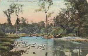 AILSA CRAIG , Ontario , Canada , PU-1909; On the River