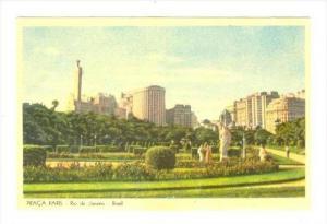 Praca Paris, Rio De Janeiro, Brasil, 1900-1910s