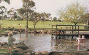 Civic Park Billabong Tea Room Plaza Modbury Australia Postcard