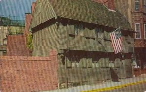 Massachusetts Boston The Paul Revere House 1955