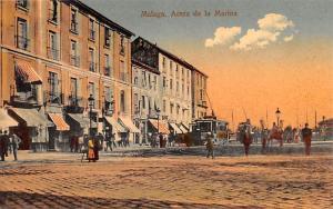 Spain Old Vintage Antique Post Card Acera de la Marina Malaga Unused