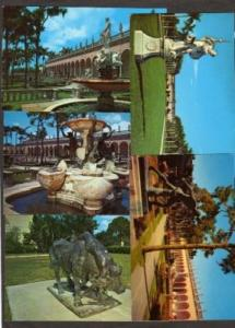 FL Lot 5 Postcards Ringling Museum SARASOTA FLORIDA