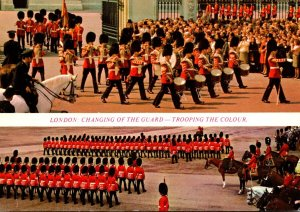 England London Buckingham Palace Changing The Guard and Trooping The Colour