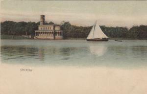 SACROW , Germany , 1890s ; Sailboat