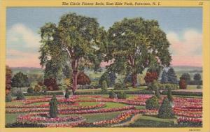 New Jersey Paterson The Circle Flower Beds East Side Park