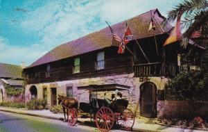 Florida St Augustine America's Oldest House