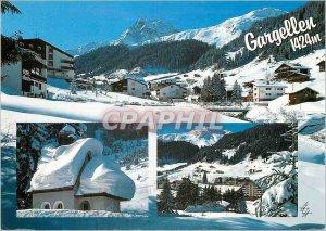 Modern Postcard Gargellen im Montafon Vorarlberg 1424m mit Madrisa Osterreich