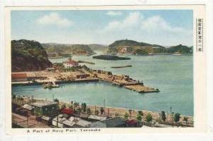 Aerial, Part Of Navy Port, Yokosuka, Japan, 1940s