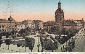 MANNHEIM, Baden-Wurttemberg, Germany, PU-1925; Paradeplatz