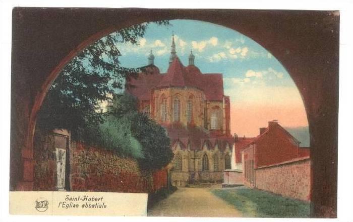 l'Eglise Abbatiale, Arch, Saint-Hubert (Moselle), France, 1900-1910s