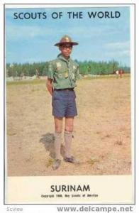 Boy Scouts of the World, SURINAM SCOUTS, 1968