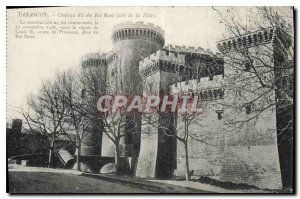 Old Postcard said Chateau du Roi Rene (City side)