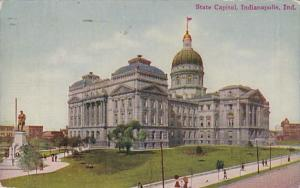 Indiana Indianapolis State Capitol Building 1911
