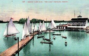 Portland, Oregon - The Oregon Yacht Club -  The Oaks - c1910