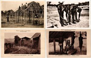 CENTRAL AFRICAN REPUBLIC C.A.R ETHNIC TYPES 26 CPA Vintage Postcards