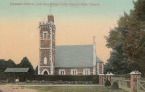 JACKSON POINT , Ontario, Canada, 1900-10s , Sibbald's Church , Lake Simcoe