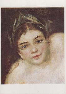 Renoir La Nymphe A La Detail Source National Gallery Painting Postcard