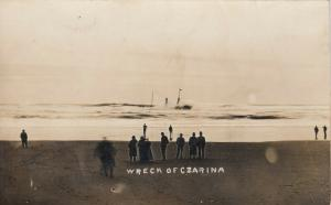RP: MARSHFIELD  , Oregon , 1910 ; Shipwreck of CZARINA, #4