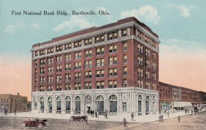 BARTLESVILLE, Oklahoma, 1900-1910's; First National Bank Bldg.