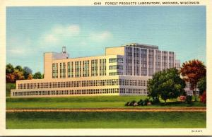 Wisconsin Madison Forest Products Laboratory Curteich