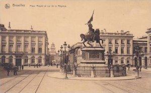 Belgium Brussels Place Royale et rue de la Regence