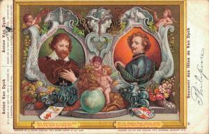Souvenir des fêtes de Van Dyck Postcard 02.72