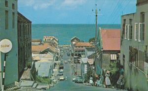 Granby Street from Constitution Hill, Classic Cars, GRENADA, 40-60's