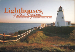 Lighthouses of New England - Book of 30 Post Cards - Mint