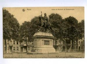 150966 BELGIUM MONS Baudoin de Constantinople Vintage postcard