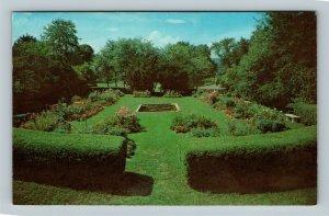 Weston WV, The Formal Garden, State 4-H Camp Chrome West Virginia c1971 Postcard
