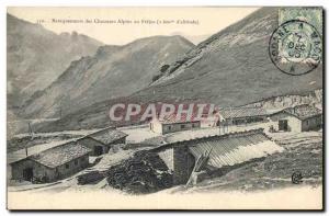 Postcard Old Army Barracks of the Alpini in Frejus