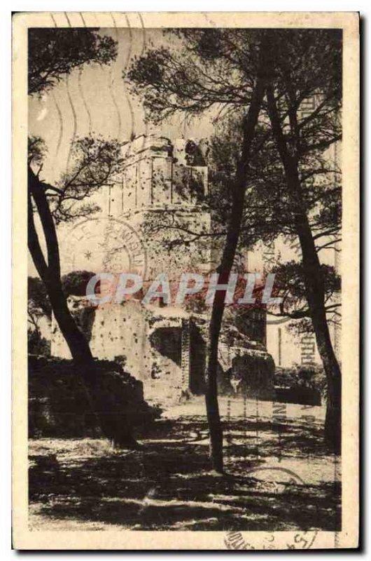 Postcard Old Nimes La Tour Magne