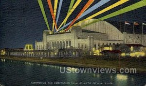 Auditorium & Convention Hall in Atlantic City, New Jersey