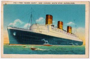 New Queen Mary, Cunard White Star Superliner