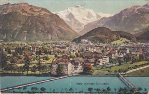 INTERLAKEN, Switzerland, PU-1909; Tolalansicht, Panoramic View