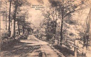 Denton St. Lake Pleasant, Massachusetts Postcard