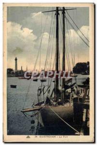 Ouistreham Postcard Old Port (boat)