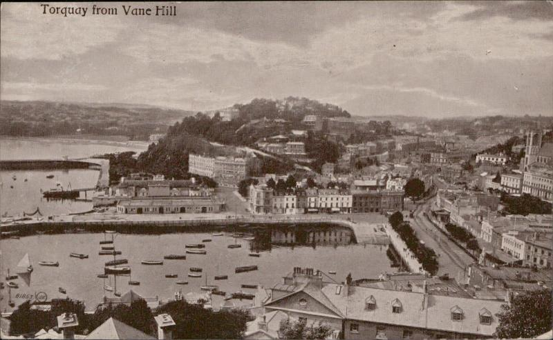 Torquay from Vane Hill UK