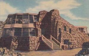 Colorado Denver Mountain Parks Mount Evans Crest House At Summit Of Mount Eva...