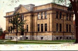 New York Canastota Public Library 1906