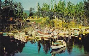 Canada Scott Point Marina Long Harbor Salt Spring Island British Columbia