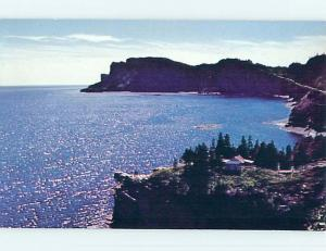 Pre-1980 TOWN VIEW SCENE Gaspe Peninsula Quebec QC p9716