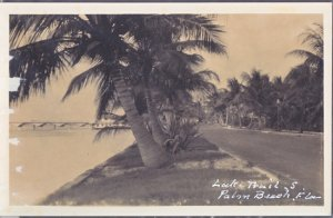 Palm Beach -  Lake Trail, BEFORE YACHT BASIN CONSTRUCTED !  1920s -